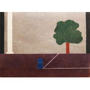 """Eleonore Koch - pastel sobre cartão - 57 x 77 cm - """"Sem Título"""" - ass. inferior esquerdo - 1983"""