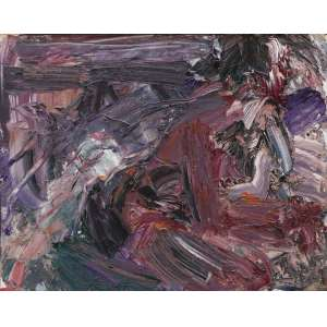 "Cabral, Antônio Hélio - óleo sobre tela - 80 x 100 cm - ""Sem Título"" - ass. verso - 1997"