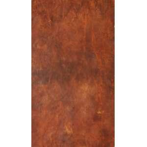 """José Bechara - pigmentos e oxidação sobre papel artesanal - 91 x 62 cm - """"Sem Título"""" - ass. verso - 2000 - Com certificado do Artista"""