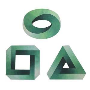 """Antônio Peticov - tríptico – acrílica sobre madeira - 40 x 40 cm, 36 x 45 cm e 40 x 45 cm - """"To Oscar"""" - ass. verso - 2007 - T 3/100, 3/100 e 4/100"""