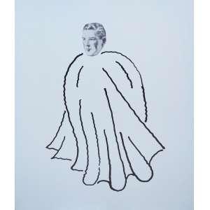 """MARCELO CIPIS - impressão colada sobre alumínio - 193 x 155 cm - """"Homem Parangolé"""" - ass. verso - 2011 -"""