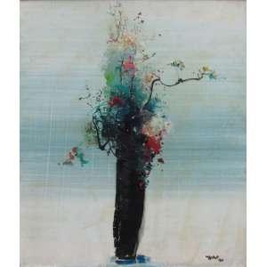 Yugo Mabe - óleo sobre tela 60 x 50 cm Vaso de flores ass. CID e verso 1990