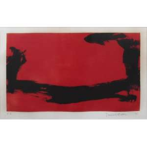 Tomie Ohtake - gravura em metal 64 x 88 cm Sem título ass. CID P.A. 1988