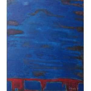 Marina Saleme - óleo sobre tela 200 x 165 cm Céu de Almas ass. verso 1995