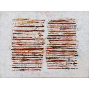 Sérgio Fingermann - óleo sobre tela 60 x 80 cm Sem título ass. verso 1994 reproduzida no livro Sergio Fingermann Pinturas pág. 74