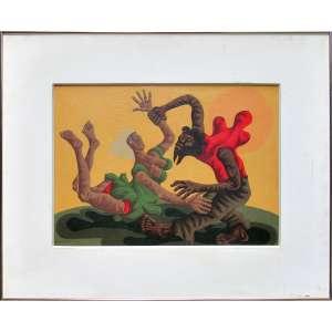 Clóvis Graciano - óleo sobre tela 32 x 45 cm Sem título ass. CIE 1976 - obra analisada pelo Projeto Graciano e pronta para catalogação