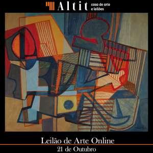 Altit Casa de Arte e Leilões - Leilão de Arte Outubro 2021