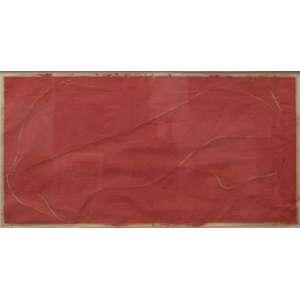Carlito Carvalhosa - óleo sobre papel artesanal 103 x 205 cm Sem Titulo ass. CID e CIE 1997