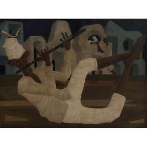 Clóvis Graciano (1969). Oléo sobre tela. Quadro craquelado já fixado com certificado da Galeria Canvas. Medida 60cm x 80cm. <br /><br /><br><br>Clóvis Graciano (1969). Oil on canvas. Cracked frame already set. Measure 60cm x 80cm. <br />