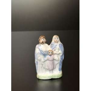 Europa. Estátua Sagrada Familia. Medida de 10cm. <br /><br /><br><br>Holy Family Statue. Measure of 10cm. We deliver via carrier or mail, in case of need, at hand for all Brazil with cost for the account of the buyer.