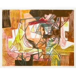 Roberto Burle Marx - Itambira I - 53 x 67,5 cm - Litografia 48/50 - 1993 - Datado e Assinado no c.i.d