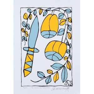 Francisco Brennand - Os Alimentos Terrestres - 70 x 50 cm - Fine Art 35/50 - Assinada a lápis -Produção Lithos