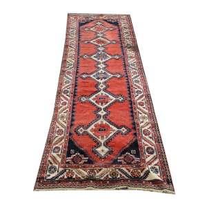 Tapete ( passadeira ) caucasiano antigo, 314 x 100cm = 3,14m2 (com mancha em uma das pontas)