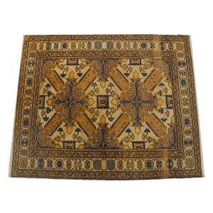 Tapete shirvan, caucasiano antigo, 130 x 105cm = 1,3m2
