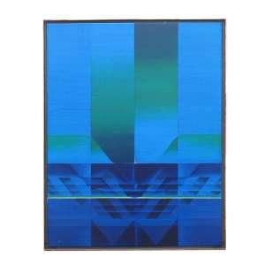 PEREZ CELIS ((Buenos Aires 1939 -2008). Hacia Alla, OST, 100 x 80 cm., dat. 1973
