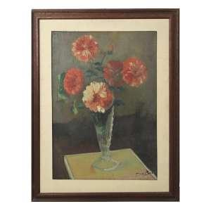 GINO BRUNO, Vaso de Flores, OST, ACID, 70 x 50cm.