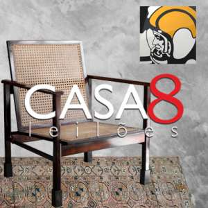 Casa 8 Leilões - Residencial - Móveis Design e Objetos de Época