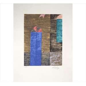 ALFREDO VOLPI, Porta Azul, Serigrafia, Tiragem 21/50, ACID, 55 x 42cm (sem moldura)