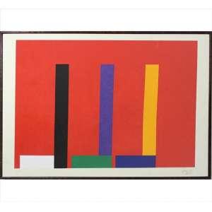 EDUARDO SUED, Sem Título, Serigrafia, Tiragem 42/120, ACID, 63 x 85cm. Datado 2010