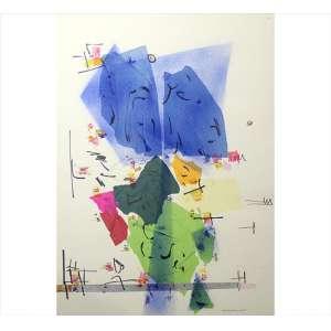 EMENDONÇA D'HORTA, Abstrato, Colagem aquarelada sobre cartão, ACID, 66 x 48cm. (sem moldura)