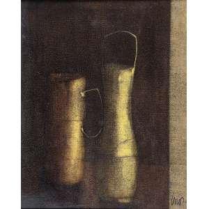 INOS CORRADIN (NATUREZA MORTA) - OLEO SOBRE TELA - medida 75x60cm - assinatura no canto inferior direito