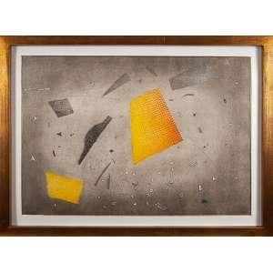 PIZA, Espace Eclaté - Gravura metal - 63x91 cm - ACID (Obra reproduzido no livro do artista)