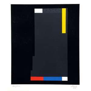 Eduardo Sued - serigrafia - 89x80 cm - 21/100 - ass: e datado no C.I.D