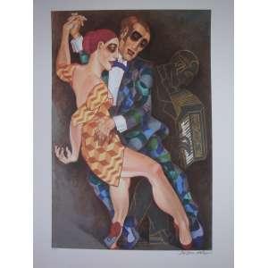 JUAREZ MACHADO - Tango - Gravura - Tiragem 56/100 - 100x70cm - sem moldura