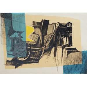 BURLE MARX, Roberto (1909 – 1994) - Juruparuna<br>litografia em cores impressa s/ papel, ass., dat. 1985 inf. dir., tit. no centro inf. e n. 59/100 inf. esq.<br>MI 46 x 64,5 cm / ME 59,5 x 80 cm