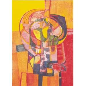 BURLE MARX, Roberto (1909 – 1994) - Girândola<br>litografia em cores impressa s/ papel, ass., dat. 1987 inf. dir., tit. no centro inf. e n. 26/50 inf. esq.<br>MI 64,5 x 45,5 cm / ME 79,5 x 59,5 cm