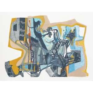 BURLE MARX, Roberto (1909 – 1994) - A Boca do Mato<br>litografia em cores impressa s/ papel, ass., dat. 1993 inf. dir., tit. no centro inf. e n. 38/50 inf. esq.<br>MI 52 x 64,5 cm / ME 59 x 78,5 cm
