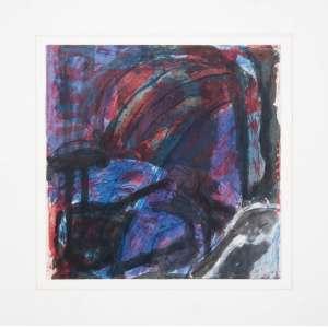 CATTANI, Maria Lucia (1958) - Sem Título<br>aquarela e nanquim s/ papel de gravura em metal como base, ass. e dat. 1989 inf. dir.<br>Participou da exposição do artista na Galeria Anna Maria Niemeyer<br><br>30 x 29 cm
