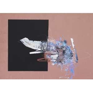 MABE, Manabu (1924 – 1997) - Sem Título<br>acrílica s/ cartão, ass., dat. 1983 inf. dir. e com etiqueta da Galeria Realidade no verso<br>Procedência: Galeria Realidade<br>49,5 x 69,5 cm