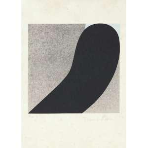 OHTAKE, Tomie (1913 – 2015) - Sem Título<br>litografia impressa s/ papel, ass. inf. dir. e com indicação PA IX inf. esq.<br>MI 30 x 30 cm / ME 50 x 35 cm