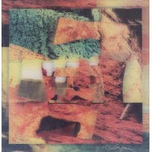 VERGARA, Carlos (1941) - Sem Título<br>fotografias realizadas pelo artista nas jazidas de pigmentos naturais de Minas Gerais, ass. e n. 473/1000 no verso<br>29 x 28 cm