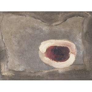 CARVÃO, Aluísio (1920 – 2001) - Sem Título<br>óleo s/ cartão, ass., dat. 1962 e sit. Paris no verso<br>31 x 41 cm