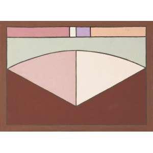 CARVÃO, Aluísio (1920 – 2001) - Sem Título<br>óleo s/ tela, ass., dat. 1978 e com dedicatória no verso<br>Procedência: Galeria Saramenha<br>24,5 x 33 cm