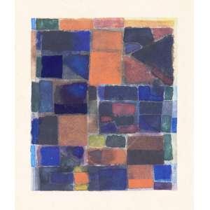 GONÇALO Ivo (1958) - A Viagem de Johannes Faustus Segundo Gustav Mahler<br>aquarela s/ cartão, ass. com as iniciais inf. dir., dat. 08/01/1986 inf. esq. e tit. no centro<br>MI 12 x 14,5 cm / ME 16 x 17,5 cm