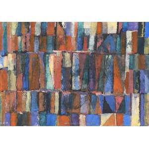GONÇALO Ivo (1958) - Sem Título<br>aquarela s/ cartão, ass. com as iniciais inf. dir., dat. 12/08/1989 inf. esq. e com dedicatória na parte inf.<br>14 x 21 cm