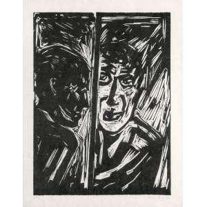 GOELDI, Oswaldo (1895 – 1961) - Sem Título<br>xilogravura impressa s/ papel, ass. inf. dr. e com indicação PI inf. esq.<br>MI 16,5 x 12,5 cm / ME 25 x 20,5 cm