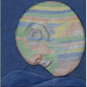 BULCÃO, Athos (1918 – 2008) - Máscara – Relevo<br>relevo e papel pintado colado em superfície de madeira revestida, ass., dat. 1981 e tit. no verso<br>20 x 20 cm