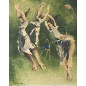 GRACIANO, Clóvis (1907 – 1988) - Composição 26<br>óleo s/ tela, ass. e dat. 1943 inf. esq.<br>Procedência: Letícia Moraes<br>90,5 x 72 cm