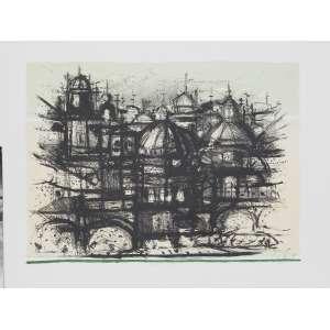 DAREL Valença Lins (1924 – 2017) - Roma 58<br>litografia impressa s/ papel. ass. inf. dir., tit. centro inf. e n. 2/55 inf. esq.<br>MI 47 x 63 cm / ME 59,5 x 78 cm
