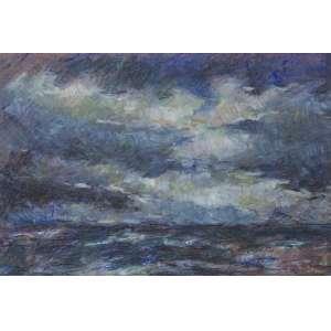 KAZ, Paulina (1915 – 2001) - Sem Título<br>pastel oleoso s/ papel, ass. inf. dir.<br>(década de 1980)<br>48,5 x 72 cm