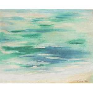 CÍCERO DIAS (1907 – 2003) - Sem Título<br>óleo s/ tela, ass. inf. dir.<br>(década de 1970)<br>33 x 41 cm