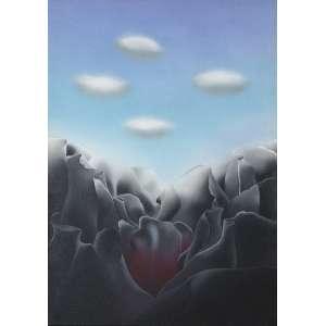 CHECCACCI, Pietrina (1941) - Noturno<br>vinil s/ tela, ass., dat. 1996, tit. e sit. Rio no chassi<br>100 x 70 cm