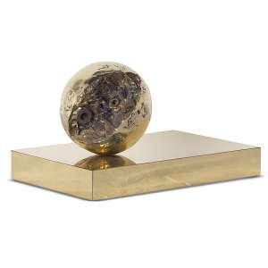 AGOSTINELLI, Mário (1915 – 2000) - Sem Título<br>escultura em bronze, s/ ass.<br>(década de 1980)<br>21 x 37 x 24 cm