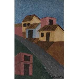 Lorenzato - Morro na favela 56 x 37 cm OSTCE - Ass.CID e 1993- Esta obra foi adquirida na AM Galeria de Arte