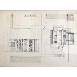 Maria Helena Andrés - Sem Titulo, Nanquim sobre papel, 32 alt X 48 larg (cm), acie, Ano: 1959