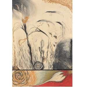 Laura Anderson - Los frutos pasaranla promessa de las Flores – 85 x 59 cm – Serigrafia – Tiragem 150 – Ass.CID e Dat.1993 – Edição Eco Art